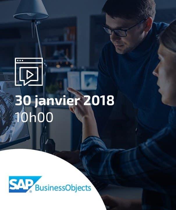 Webinar SAP BusinessObjects BI 4.2, les nouveautés n'attendent pas !