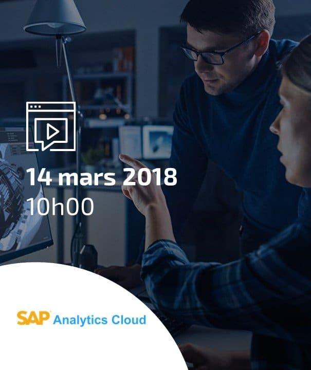 Présentation de l'offre SAP Analytics Cloud 2018