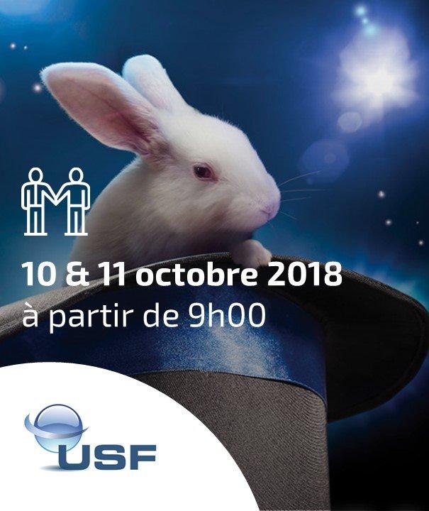 Convention USF 2018, retrouvez les experts ERP et BI sur le stand