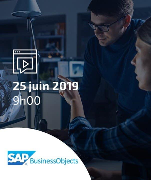 Quels usages possibles avec SAP BusinessObjects?