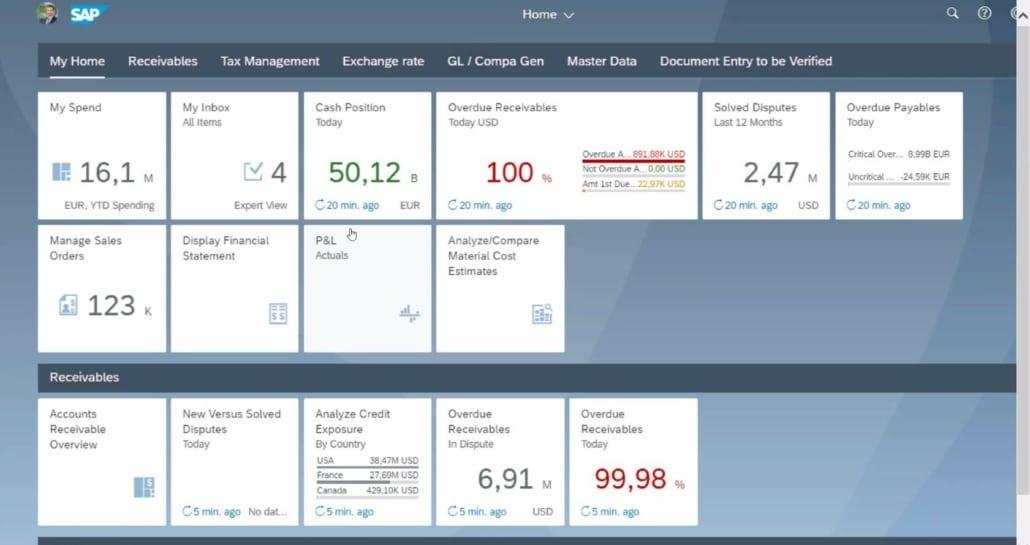 Pilotez votre activité via les tuiles Fiori sur SAP S/4HANA
