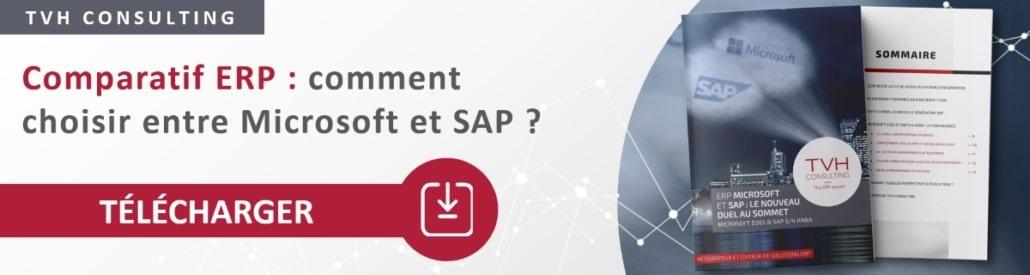Le livre blanc du comparatif ERP entre Microsoft Dynamics 365 et SAP S/4HANA