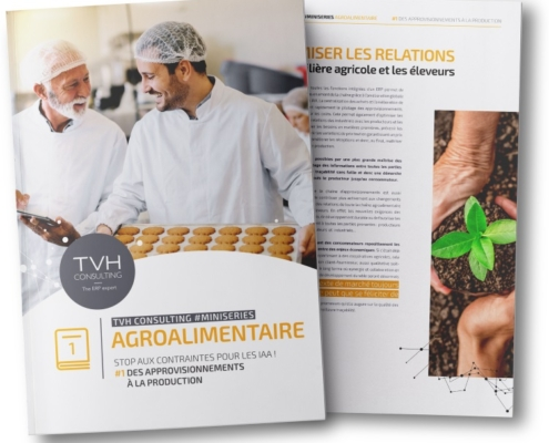 Industrie agroalimentaire : Des approvisionnements à la production