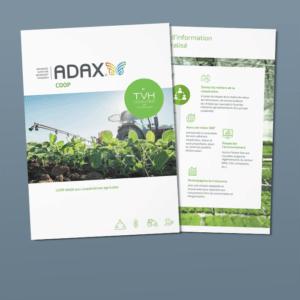 Découvrez la brochure d'ADAX COOP