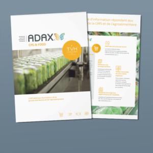 Consultez les fonctionnalités de l'ERP ADAX CPG & FOOD