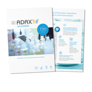 Consultez les fonctionnalités de l'ERP ADAX Life Sciences