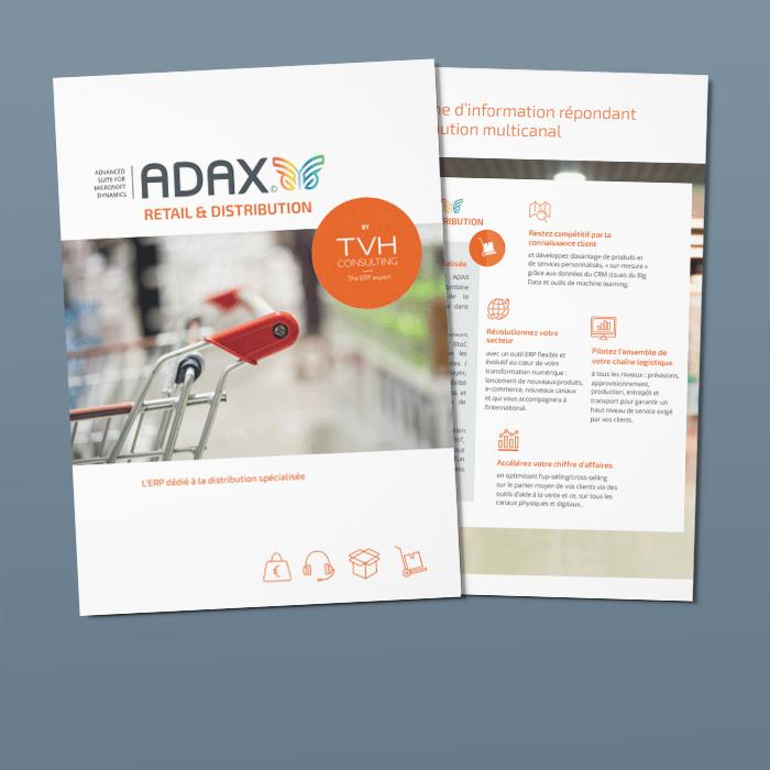 Consultez les fonctionnalités de l'ERP ADAX Retail & Distribution