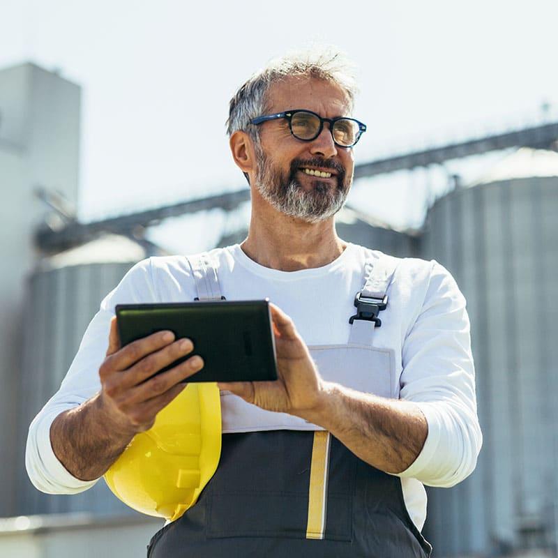 POWERAPP ADAX Gestion des silos, une application pour piloter à distance la gestion de vos silos