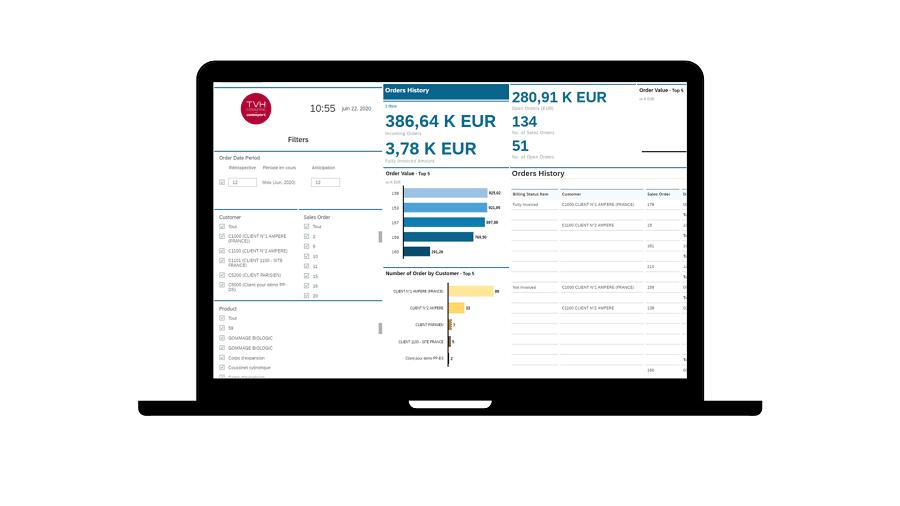 Exploiter vos données en temps réel avec Cadexpress+ S/4 analytics