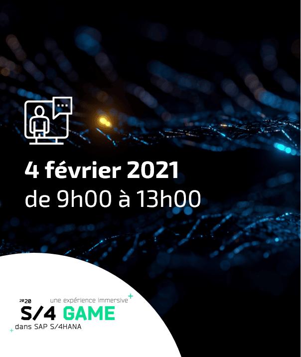 SAP S/4 GAME, une expérience immersive de 2h sur SAP