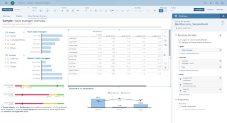 SAP Analytics Cloud : Reporting et Business Intelligence