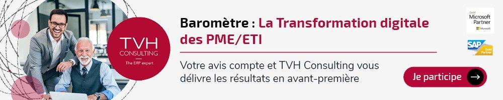 Baromètre : la transformation digitale des PME/ETI en France avec le magazine Chef d'Entreprise