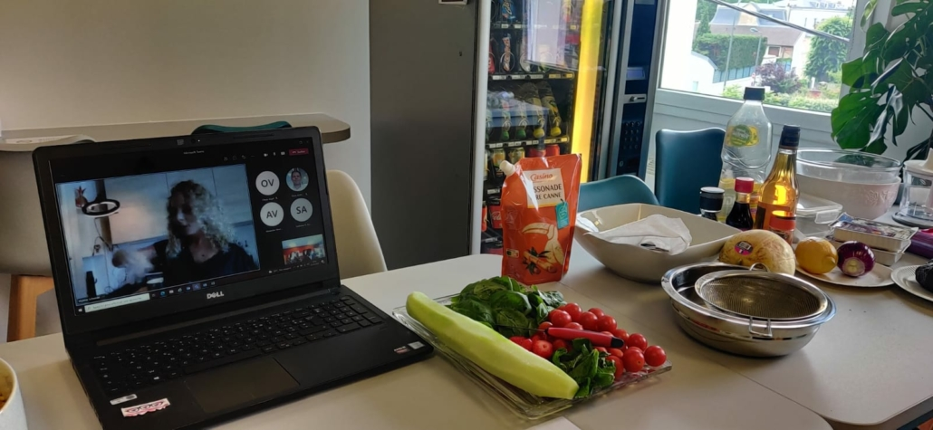 Atelier cours de cuisine